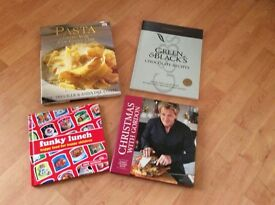 4 Cook Books - Immaculate Condition