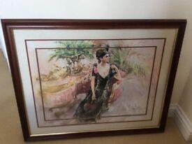 Gordon King framed print