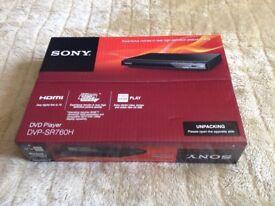 Brand New Sony DVD Player DVP-SR760H