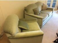 Bed Settee and Matching Chair