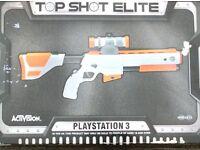 Playstaion 3 top shot elite gun