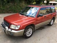 2000 SUBARU FORESTER GLS ESTATE - LOADS OF HISTORY - 13 MONTHS M.O.T. - CHEAP CAR