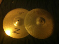 "High Quality Heavy Hi Hats 14"" - Set of Two"