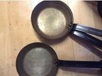 Heavy duty metal pans from hub to oven