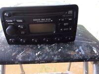 Ford Mondeo car radio 6000CD RDS E-O-N