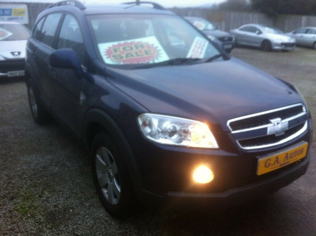 Late 2008 Chevrolet Captiva 20 4x4 Lt Seven Seater Manual In