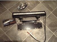 CREE light bar and bracket and cables
