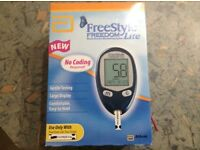 Blood glucose monitor (Freestyle Freedom Lite)