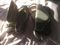 Van Dal shoes and matching handbag