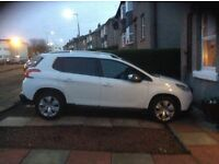 Peugeot 2008 Crossover 1.2 VTi Allure beautiful looking car with a bit of a difference!