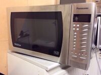 Panasonic microwave NN-St479S with (3 month warranty)