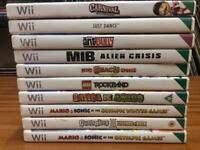 NINTENDO WII GAMES / PS3 GAMES / XBOX GAMES / JOB LOT OF 83 GAMES / BUNDLE OF MIXED GAMES-83