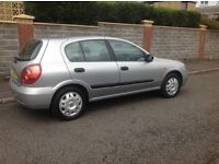 NISSAN ALMERA S 1.5cc 6 MONTHS MOT VERY CLEAN JUST £450