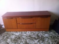 A large sturdy sideboard