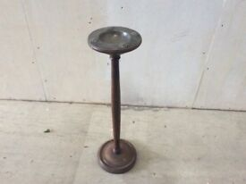 Arts and Crafts floor standing ashtray