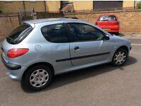 2003 Peugeot 206 1.4cc petrol 3 door long mot ideal first or learner car
