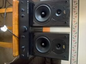 Cambridge audio a1 amp and gale speakers