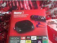 Roku 3 streaming box