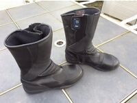 Unisex RST Waterproof motorcycle boots size 5