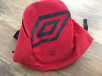Umbro sports back pack