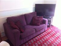 Virtually unused sofa bed