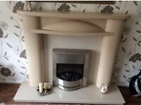 Firesurround ,hearth and electric fire
