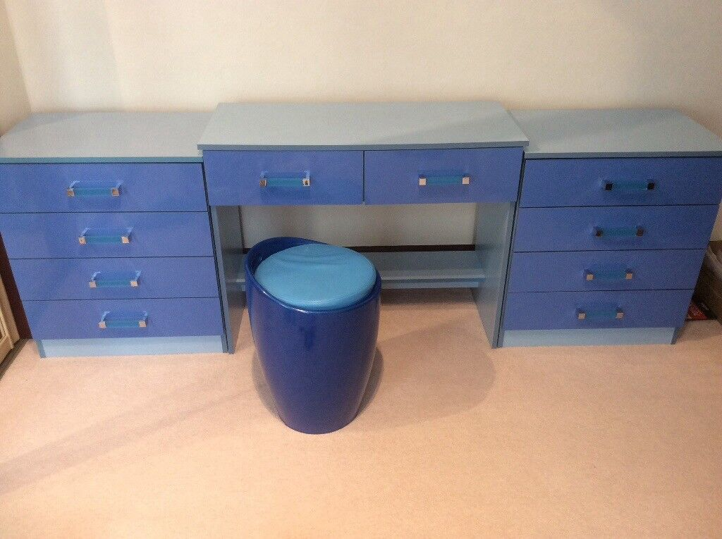 Bedroom Furniture Kids Two Toned Blue In Prestwick South Ayrshire Gumtree