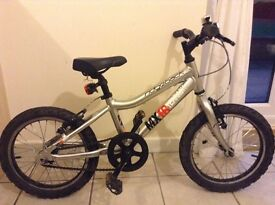 Ridgeback MX 16 Terrain silver aluminium children's bike silver in great working order