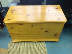 Solid Pine Blanket Box