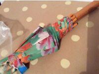 New flower design umbrella