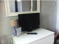 Good TV + remote control +new antenna