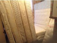 Single mattresses reclaimed,£20.00 each or £50.00 for three.
