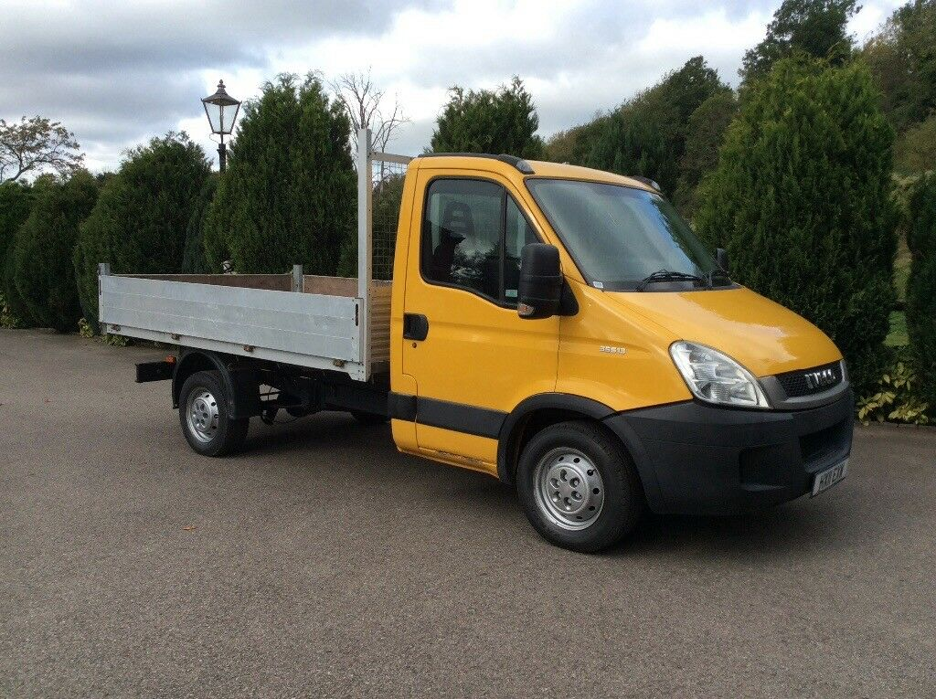 Iveco daily 3.5 ton tipper alloy body 2011