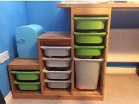 2x Ikea Children's Storage Unit