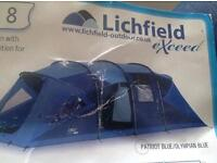 Lichfield carradale exceed 8 man tent