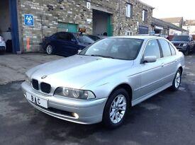 BMW 5 Series 2.2 520i SE 4dr £1,995 FULL BMW SERVICE HISTORY! 2002 (52 reg), Saloon