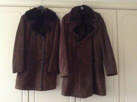 Sheepskin coats ladies/gentleman