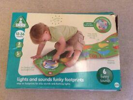 ELC light and sound funky footprint mat