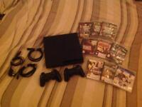PS3 + 2 Controllers + 9 Games