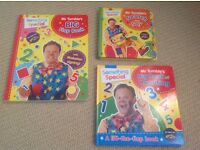 Books - Mr Tumble, Waybuloo, That's Not My..., Toddler Touch, Thomas the Tank Engine