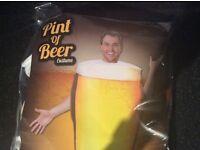 Fancy dress beer costume