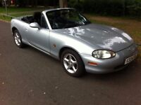 MAZDA MX-5 MX5 1.6 CONVERTIBLE ROADSTER, 5 SPEED MANUAL, STARTS AND DRIVES WELL, MOT EXPIRED BARGAIN