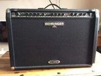 BEHRINGER GUITAR AMP AS NEW BARELY USED