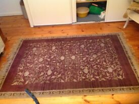 "B and Q carpet/rug in good condition 6' long by 3'10"""" wide"