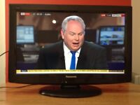 Panasonic 26 inch HD LCD TV with Freeview, good working order