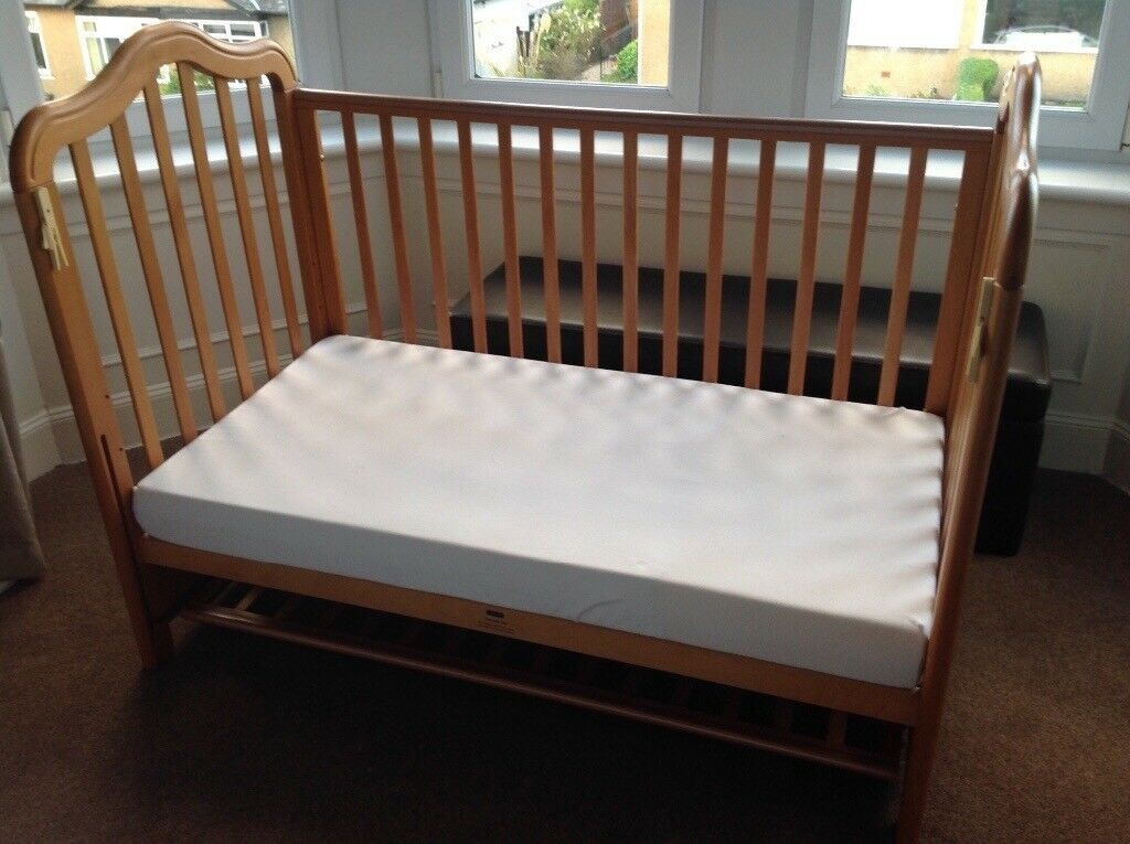Height Adjustable Co Sleeperco Sleeping Bed Side Cots Fits Any Bed