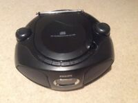 Portable stereo /cd player