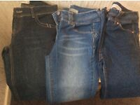 Next Jeans NEVER WORN petite size 8 slim fit