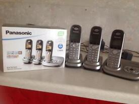 Panasonic 3 phone set
