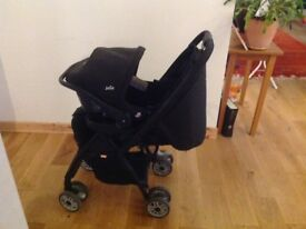 Joie Travel System/Buggy and Car Seat - Great Condition